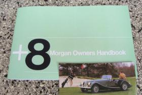 Morgan Plus 8 +8 Betriebsanleitung (1980)