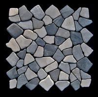Stein Mosaik Boden-Design