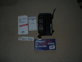 Motorola D2 Mannesmann Mobilfunk tragbar Rarität Handymuseum D2