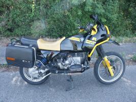 motorrad enduro tourer bmw r 80 gs in bruchsal kardan schwarz f nfganggetriebe. Black Bedroom Furniture Sets. Home Design Ideas