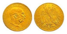 Foto 3 Münzen mit Adler der albanischen Flagge - Albanien