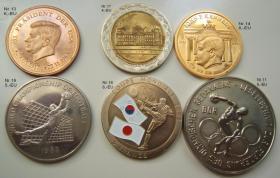 Münzen /Medaillen  ( 6 Stück) Nachlass