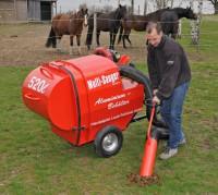Multisauger 520 Liter für Pferdeäpfel / Pferdemist