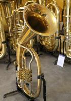 Foto 3 Musica Steyr Austria B - Tenorhorn mit Neusilberkranz und Koffer
