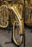 Foto 5 Musica Steyr Austria B - Tenorhorn mit Neusilberkranz und Koffer