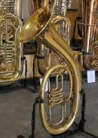 Foto 6 Musica Steyr Austria B - Tenorhorn mit Neusilberkranz und Koffer