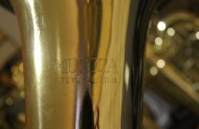 Foto 7 Musica Steyr Austria B - Tenorhorn mit Neusilberkranz und Koffer