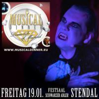 Musicaldinner - Das Original ''Diamonds of Musical''  19.01.  Altmarkhotel Schwarzer Adler - Stendal