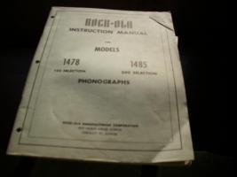 Musikbox Rock Ola Instruktion Manual