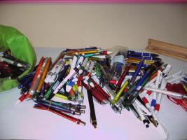 Foto 2 Muster-Kugelschreiber, gesammelte Werke