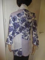 Foto 5 NEU mit ETIKETTEN * Rosen Romantik- Style * Piraten Look * Crinkel * Long * Hemd- Bluse * Tunika ''BIBA by ESCADA'' Gr. 38- 40, 42/ S- M * lila- flieder * weiss
