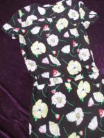 Foto 7 NEU mit ETIKETT * Blumen * Blüten * Flower- Power * Jumpsuit * Einteiler * Overall ''S.Oliver'' Gr. 36- 38/ S * schwarz * weiss * gelb * grün * rot *