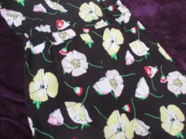 Foto 8 NEU mit ETIKETT * Blumen * Blüten * Flower- Power * Jumpsuit * Einteiler * Overall ''S.Oliver'' Gr. 36- 38/ S * schwarz * weiss * gelb * grün * rot *
