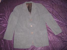 NEU* Edler * Woll Anzug * Blazer * SAKKO ''HUGO BOSS'' Original * Größe 50/ M, dunkelgrau *