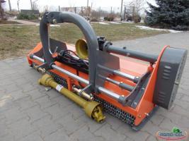 NEU Schlegelmulcher für Traktor VIDEO, Mulcher Anbaugerät 1,55m und andere, Mäher für Wiese mit Vorschub