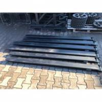NEU Verlängerungen für Gabelstapler 130x60 mm Länge 2.0m Gabelverlängerung