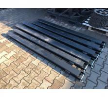 Foto 3 NEU Verlängerungen für Gabelstapler 130x60 mm Länge 2.0m Gabelverlängerung