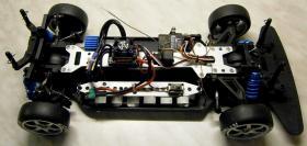 Foto 14 NEUES-SHOW DRIFT CAR BRUSHLESS RTR 1/10er 4WD 2,4GHz Fernst.Lipo Akku, Lipo Lader -120 KMH