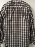 Foto 4 NEU * Business * Freizeit * Langarm * Karo * Hemd im Englisch * Tartan Style ''SPRINGFIELD'' Gr. 39- 40/ M * weiss- tannen- grün- braun- gelb- schwarz *