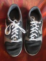 Foto 2 NEU * Damen oder auch Herren * Unisex * Trainings Sport Hallen Lauf Schuhe Sneaker ''NIKE'' Air Max Fit * Original * Gr. 39/ 6 * schwarz * silber *