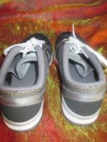 Foto 4 NEU * Damen oder auch Herren * Unisex * Trainings Sport Hallen Lauf Schuhe Sneaker ''NIKE'' Air Max Fit * Original * Gr. 39/ 6 * schwarz * silber *