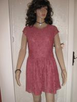 Foto 2 NEU * Edel * Ausgeh * Abend * Cocktail * Lace Spitzen * Mini Kleid ''H&M'' Gr. 36- 38/ S * rosenholz *