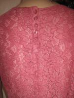Foto 4 NEU * Edel * Ausgeh * Abend * Cocktail * Lace Spitzen * Mini Kleid ''H&M'' Gr. 36- 38/ S * rosenholz *