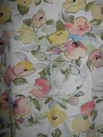 NEU * Edel * Romantik * Blumen * Blüten * Flower- Power * Kragenlose * DESIGNER * Halbarm * Bluse * Gr. 42- 44, 46/ M- L * Pastell *