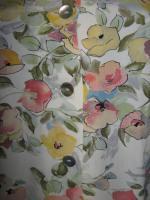 Foto 3 NEU * Edel * Romantik * Blumen * Blüten * Flower- Power * Kragenlose * DESIGNER * Halbarm * Bluse * Gr. 42- 44, 46/ M- L * Pastell *