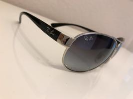 Foto 3 NEU * Modern * klassisch * Blogger * Retro * Piloten- Style * Sonnenbrille * Sun Glasses ''Ray Ban'' ORIGINAL * schwarz * silber Metall *