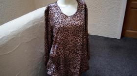 #NEU, #Shirt mit Leoprint, Gr. #46, #Meine Größe