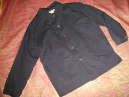 NEU * Stylisch * Marine * Sailor * Navy * Maritim- Look * Allround Jacke ''ART of SPORT by M.F.'' Gr. 52- 54/ L * dunkel- blau *