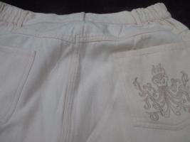 Foto 2 NEUw * Ausgefallen * modern * Original 1980er VINTAGE * Stickerei * Karotten * High Waist * Jeans- Hose ''Mirage Jeans'' Gr. 42/ M * apricot *