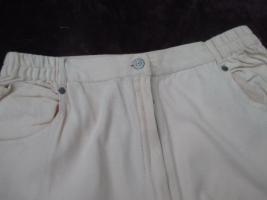 Foto 5 NEUw * Ausgefallen * modern * Original 1980er VINTAGE * Stickerei * Karotten * High Waist * Jeans- Hose ''Mirage Jeans'' Gr. 42/ M * apricot *