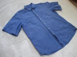 Foto 3 NEUw * Edel * Business * Freizeit * Leinen * Kurzarm * Button- Down Kragen * Hemd ''van Laack'' Original * Gr. 41- 42/ M- L * royal- königs- blau *