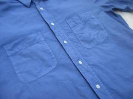 Foto 4 NEUw * Edel * Business * Freizeit * Leinen * Kurzarm * Button- Down Kragen * Hemd ''van Laack'' Original * Gr. 41- 42/ M- L * royal- königs- blau *