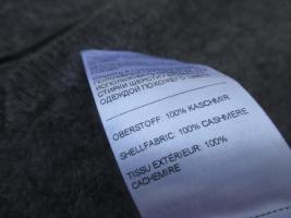 Foto 3 NEUw * Klassisch * 100% Kaschmir * Cashmere * V- Ausschnitt * Feinstrick * Pullover ''zalando'' Original * Gr. 34- 36/ XS- S * grau * anthrazit *