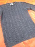 Foto 3 NEUw * Original VINTAGE * Oversize * Baumwolle * Norweger * Zopf * Grobstrick * Long * Pullover * Mini- Kleid ''SUPRISE'' Gr. 40- 42, 44/ M- L * schwarz * Gothic *