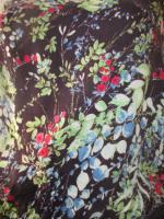 NEUw * Romantik * Blumen * Blüten * Flower- Power * Festival * Hippie- Style * Mini Kleid ''ESPRIT * edc'' Gr. 38- 40/ S- M * dunkel- blau * bunt *