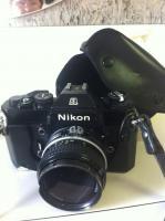 Foto 9 NIKON ...  Alte Fotoausrüstung