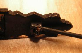 Nahkampfspange Bronze mit Hersteller