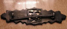 Foto 4 Nahkampfspange Bronze mit Hersteller