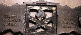 Foto 5 Nahkampfspange Bronze mit Hersteller