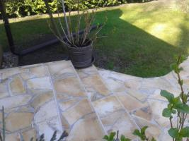 Natursteinplatten Polygonalplatten Terrasse Fliesen Urlaubsfeeling