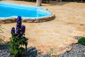 Foto 4 Natursteinplatten Polygonalplatten Terrasse Fliesen Urlaubsfeeling