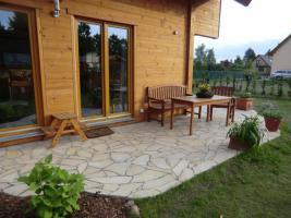 Foto 6 Natursteinplatten Polygonalplatten Terrasse Fliesen Urlaubsfeeling