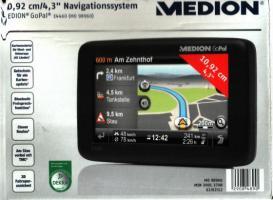 Navigationssystem 10,92 cm/4,3 (MEDIO)