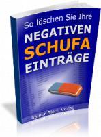 Negative Schufa löschen