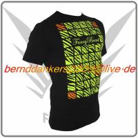 Foto 2 Neon Schwarz FancyBeast Clubwear Shirt NEU!