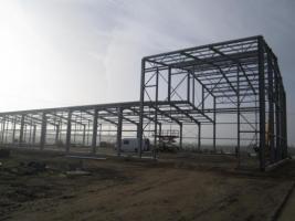 Foto 2 Neu Stahlhalle Stahlkonstruktion Gewerbehallen Hallenbau